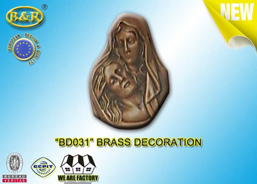 No . BD031 Brass Decoration Bronze Madonna Funera Size 13×17.5 Cm Material Copper Alloy